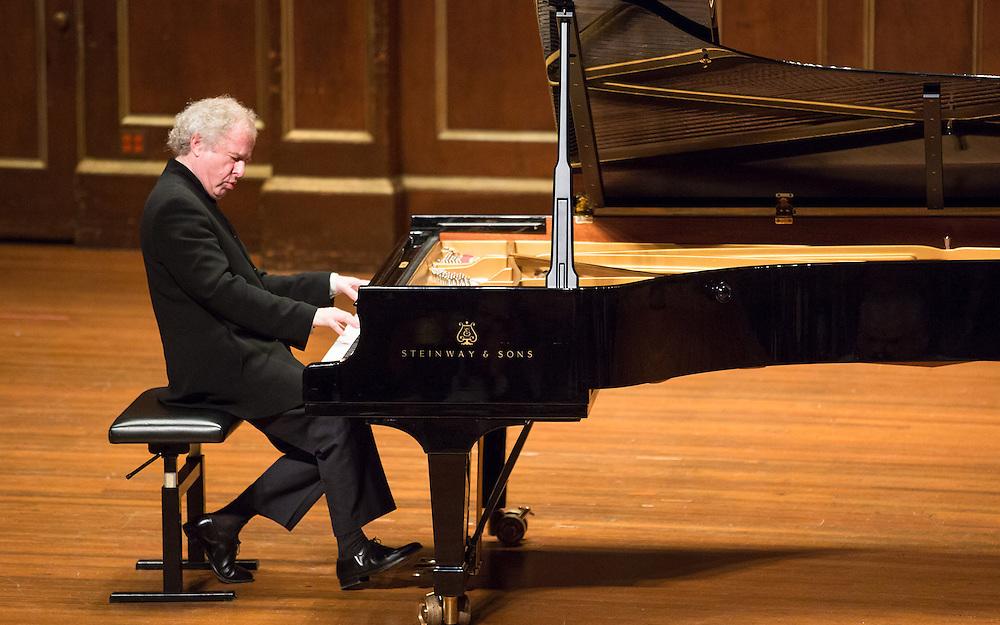 Andras Schiff in recital at Jordan Hall, Boston