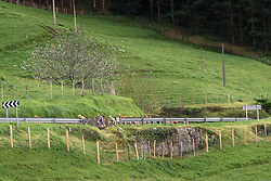 Megan Guarnier speeds down the hillside - Emakumeen Bira 2016 Stage 3 - A 105 km road stage starting and finishing in Berriatua, Spain on 16th April 2016.