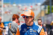 Scott Dixon from NZL, Chip Ganassi Racing, portrait, INDY car race, TORONTO race in the  Streets of Toronto - Ontario, Canada,   Fee liable image, Copyright © ATP Marcel LANGER