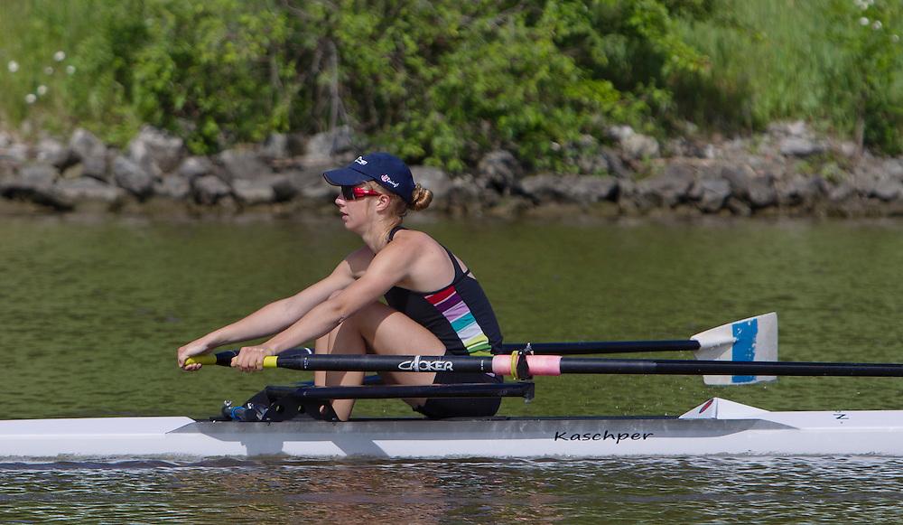 Rowing Canada Aviron Junior National Team Trials Welland Ontario 2013 Photo - Kevin Light Photography