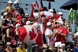 Canadian supporters, Lamaze Eric, CAN<br /> Olympic Games Rio 2016<br /> © Hippo Foto - Dirk Caremans<br /> 16/08/16
