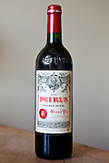 Chateau Petrus Grand Vin 2000 millennium vintage at Pomerol in the Bordeaux wine region of France