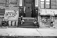 Street scene, Henry Street, Lower East Side, Manhattan 1993