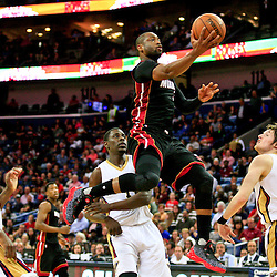 03-22-2016 Miami Heat at New Orleans Pelicans
