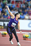 Laila Domingos (BRA) places fourth in the women's javelin at 197-1 (60.07m) during the IAAF Continental Cup 2018 at Mestky Stadion in Ostrava, Czech Republic, Sunday, Sept. 9, 2018. (Jiro Mochizuki/Image of Sport)