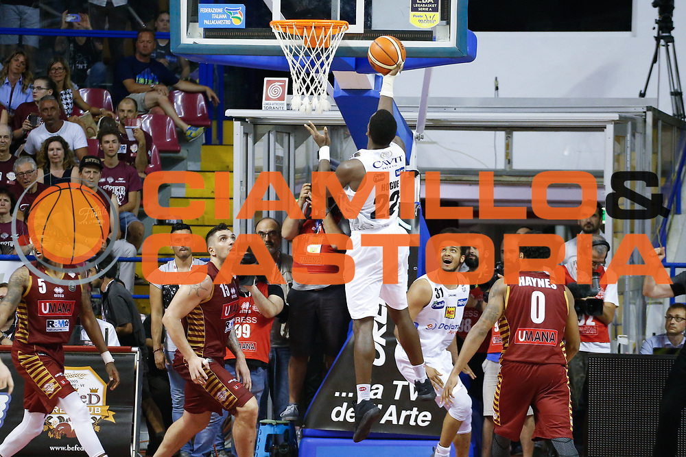 Dustin Hogue<br /> Umana Reyer Venezia - Dolomiti Energia Aquila Basket Trento<br /> Lega Basket Serie A 2016/17 Finali Gara 01<br /> Venezia, 10/06/2017<br /> Foto Ciamillo-Castoria / M. Brondi