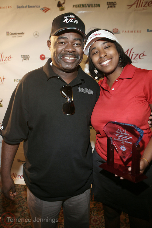 l to r: Guy Black and Cheryl Talley at ?Kiki's 1st Annual Celebrity Golf Challenge? Presented by ALIZÉ, The Premium Liqueur held at The Braemar Country Club on October 134, 2008 in Tarzana, Ca..KiKi?s Celebrity Golf Challenge (CGC) - conceived and spearheaded by Ms. Shepard ? is a fundraising event to benefit The K.I.S. Foundation, Inc.  The central mission of The K.I.S. Foundation is to inform and educate the public, raise awareness about Sickle Cell Disease through community outreach programs and educational scholarships, and to financially help support the efforts of research institutions to find a universal cure. Sickle Cell Disease is an inherited, non-contagious blood disease that can be crippling, painful, and life threatening. The K.I.S. Foundation Awards Banquet will also honor individuals and organizations who have selflessly committed themselves in the fight against Sickle Cell Disease...