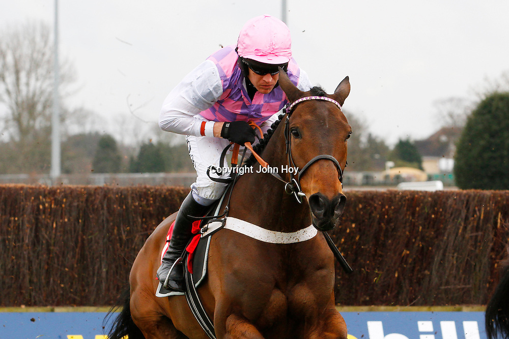 Problema Tic and Barry Geraghty winning the 2.15 race
