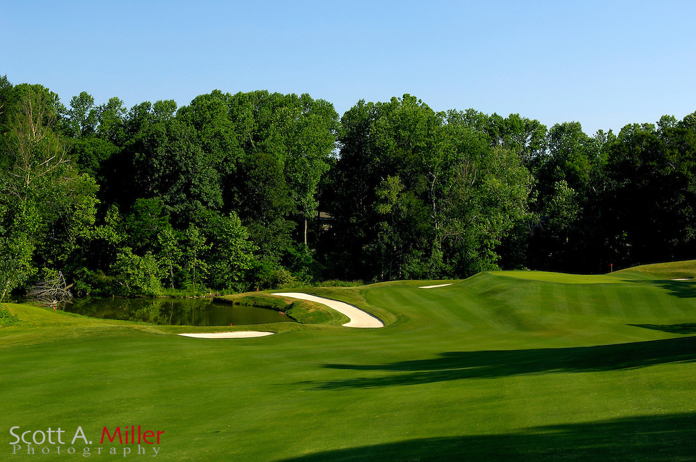 Williamsburg, Va. -- Third hole on the River Course at Kingsmill....Scott A. Miller/Golfweek