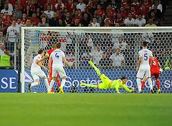 Switzerland's Yann Sommer saves from England's Phil Jones (Manchester United) header - Photo mandatory by-line: Joe Meredith/JMP - Mobile: 07966 386802 - 08/09/14 - SPORT - FOOTBALL - Switzerland - Basel - St Jacob Park - Switzerland v England - Uefa Euro 2016 Group E Qualifier