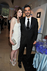 JODIE WHITTAKER and CHRISTIAN CONTRERAS at the English National Ballet Summer Party held at The Orangery, Kensington Palace, London on 27th June 2012.