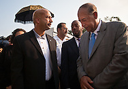 August 29, 2008, New Orleans, Mayor Ray Nagin with General Russel Honoré  at a ceremony on the 3rd year anniversary of Hurricane Katrina. William Jefferson was convicted of corruption. Ray Nagin has been connected to people who have been convicted of corruption and is being investigated by Jim Letten, the U.S. Attorney for the Eastern District of Louisiana.
