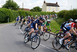 Mieke Kröger (GER) at OVO Energy Women's Tour 2018 - Stage 3, a 151 km road race from Atherstone to Leamington Spa, United Kingdom on June 15, 2018. Photo by Sean Robinson/velofocus.com