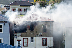 Wellington-Fire destroys Berhampore properties