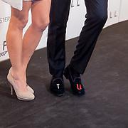 NLD/Amsterdam/20121028 - Inloop premiere nieuwe James Bond film Skyfall , Jort kelder's sloffen