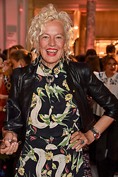 "Ellen von Unwerth at the opening of ""Frida Kahlo: Making Her Self Up"" Exhibition at the V&A Museum, London England. 13 June 2018."