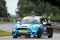 #76 Jo Polley Mini F56 JCW during the MINI Challenge - JCW at Oulton Park, Little Budworth, Cheshire, United Kingdom. August 20 2016. World Copyright Peter Taylor/PSP.