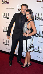 ROLAND MOURETT attends the ELLE Style Awards 2014. One Embankment, London, United Kingdom. Tuesday, 18th February 2014. Picture by i-Images