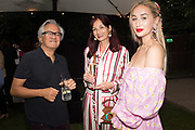 ANISH KAPOOR, CANDIDA GERTLER, NATASHA GERTLER, The Serpentine Party pcelebrating the 2019 Serpentine Pavilion created by Junya Ishigami, Presented by the Serpentine Gallery and Chanel,  25 June 2019