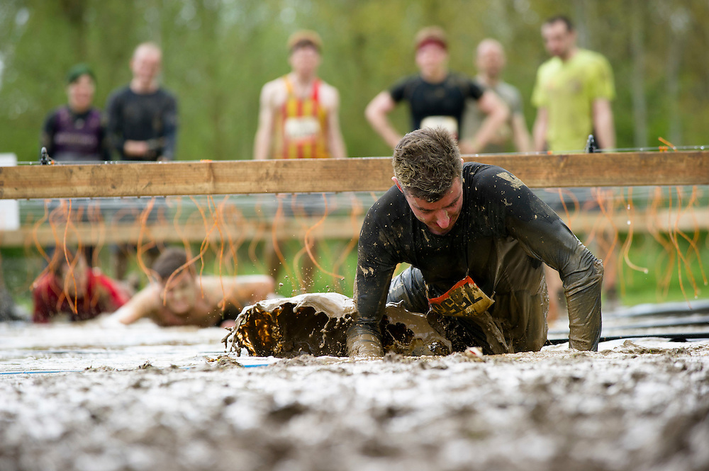 Tough Mudder - May 2012 - Northamptonshire - Electric Eel - Warren Pole