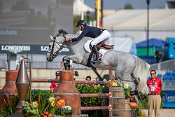 DEROUBAIX Alexis (FRA), Timon d'Aure<br /> Tryon - FEI World Equestrian Games™ 2018<br /> FEI World Individual Jumping Championship<br /> Third cometition - Round A<br /> 3. Qualifikation Einzelentscheidung 1. Runde<br /> 23. September 2018<br /> © www.sportfotos-lafrentz.de/Stefan Lafrentz