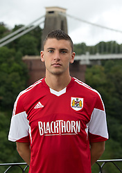 James Wilson of Bristol City - Photo mandatory by-line: Kieran McManus/JMP - Tel: Mobile: 07966 386802 31/07/2013 - SPORT - FOOTBALL - Avon Gorge Hotel - Clifton Suspension bridge - Bristol -  Team Photo