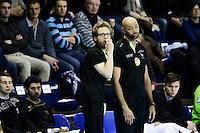 Yerime Sylla / Ragnar Oskarsson - 05.03.2015 - Montpellier / Cesson Rennes - 17eme journee de Division 1<br />Photo : Andre Delon / Icon Sport