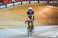 Sandie clair - 27.01.2015 -Entrainement Equipe de France de cyclisme sur piste - Saint Quentin en Yvelines <br />Photo : Anthony Dibon / Icon Sport