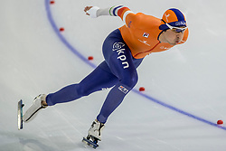 10-11-2017 NED: ISU World Cup, Heerenveen<br /> 500 m men, Kai Verbij NED