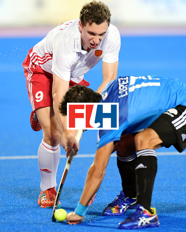 Odisha Men's Hockey World League Final Bhubaneswar 2017<br /> Match id:14<br /> England v Argentina<br /> Foto: Harry Martin (Eng) and Lucas Rossi (Arg) <br /> COPYRIGHT WORLDSPORTPICS FRANK UIJLENBROEK