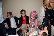 LILY ALLEN; JAIME WINSTON, Esquire Magazine's June issue hosted by the magazine's new editor Alex Bilmes and singer Lily Allen. Sketch.  5 May 2011<br /> <br />  , -DO NOT ARCHIVE-© Copyright Photograph by Dafydd Jones. 248 Clapham Rd. London SW9 0PZ. Tel 0207 820 0771. www.dafjones.com.