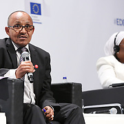 03 June 2015 - Belgium - Brussels - European Development Days - EDD - Trade - Trade for inclusive and sustainable growth - Ahmed Hamid , Commissioner for Trade , Customs , Industry and Free Movement , Economic Community of West African States (ECOWAS) © European Union