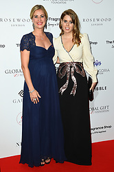 Holly Branson and Princess Beatrice of York attending the 9th Annual Global Gift Gala held at the Rosewood Hotel, London. Picture date: Friday November 2nd 2018. Photo credit should read: Matt Crossick/ EMPICS Entertainment.