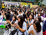 SEOUL, SOUTH KOREA: South Korean women applaud for a speaker during the Wednesday protest at the Japanese embassy in Seoul. The Wednesday protests have been taking place since January 1992. Protesters want the Japanese government to apologize for the forced sexual enslavement of up to 400,000 Asian women during World War II. The women, euphemistically called &quot;Comfort Women&quot; were drawn from territories Japan conquered during the war and many came from Korea, which was a Japanese colony in the years before and during the war. The &quot;comfort women&quot; issue is still a source of anger of many people in northeast Asian areas like South Korea, Manchuria and some parts of China.     PHOTO BY JACK KURTZ   <br /> Wednesday Demonstration demanding Japan to redress the Comfort Women problems