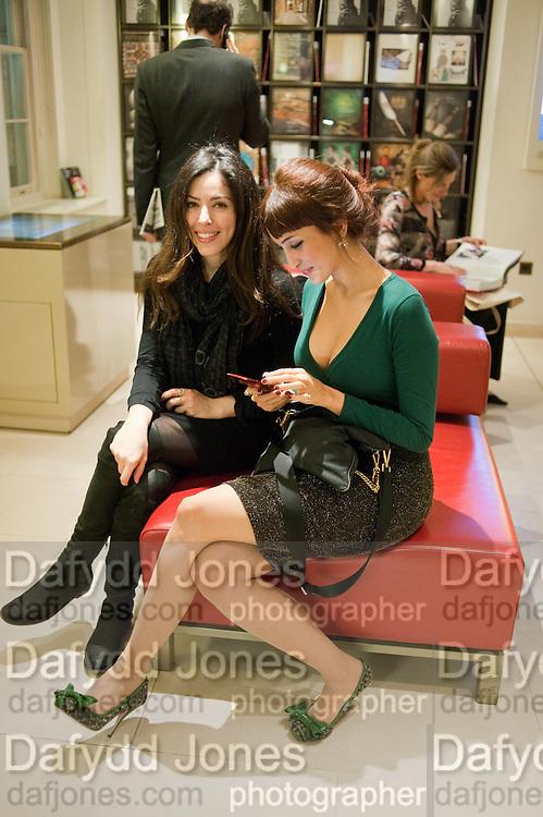 NINA MAHDAVI; NAUF ALBENDAR, SANCTUARY: BRITAIN'S ARTISTS AND THEIR STUDIOS -Book launch, Christie's King Street, St James 13 March 2012.