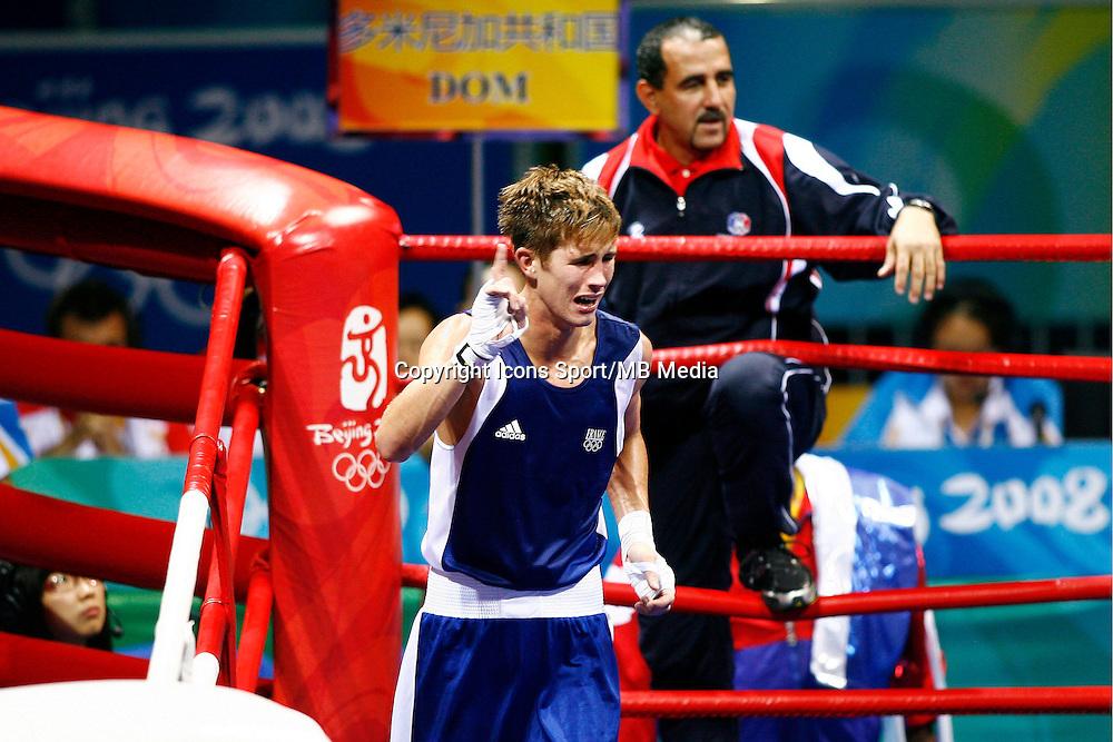 Alexis VASTINE - 22.08.2008 - Boxe 1/2 finale 64kg - Jeux Olympiques - Pekin<br />Photo : Philippe Perusseau / Icon Sport *** Local Caption ***