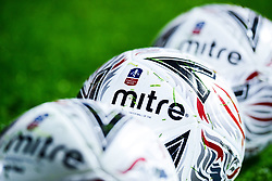 A general view of FA Cup Balls prior to kick off - Mandatory by-line: Ryan Hiscott/JMP - 21/11/2018 - FOOTBALL - Memorial Stadium - Bristol, England - Bristol Rovers v Barnet - Emirates FA Cup First Round Proper