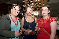 Sally Ann O' Sullivan, The Galleon, Joanna Brophy, NUIG SU, Eibhlin Seoighthe, Feicphoto at the launch of Quickest Fox Marketing's latest Twitter sensation #galwayhour took place at the the Gaslight Bar & Brasserie at Hotel Meyrick.  Photo:Andrew Downes.