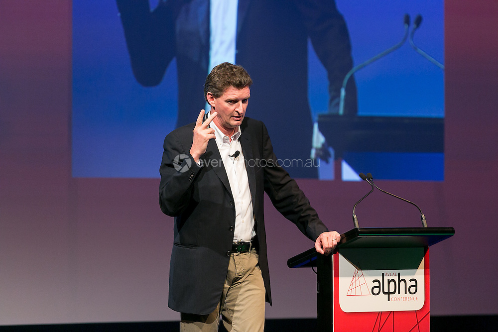 Australian Private Equity and Venture Capital Association Limited (AVCAL). Alpha Conference. Opening Address. Urs Wietlisbach. Day 1. 2013. Photo By Pat Brunet/Event Photos Australia