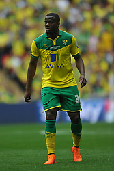 Sebastien Bassong Norwich, Middlesbrough v Norwich, Sky Bet Championship, Play Off Final, Wembley Stadium, Monday  25th May 2015