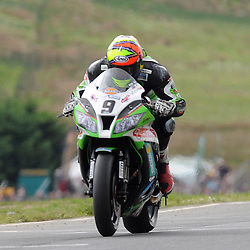 British Superbikes, Knockhill, 16-06-2013<br /> <br /> Quattro Plant Kawasaki - Chris Walker<br /> <br /> (c) David Wardle | StockPix.eu