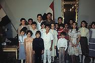 Irak 1982 . Bagdad. Saddam Hussein during the Iran Irak War