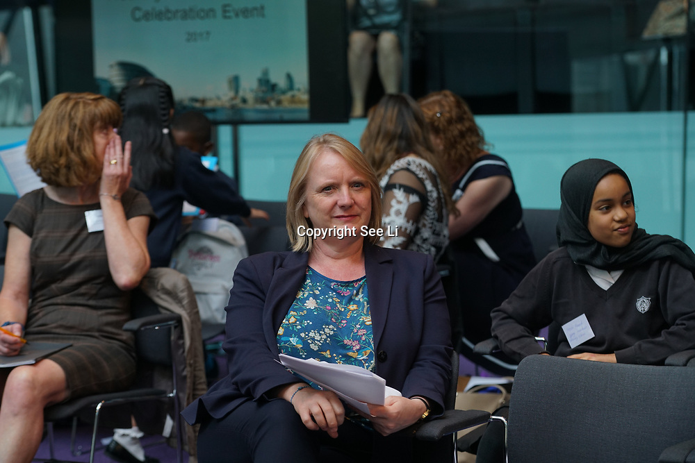 City Hall, London, Uk, 29th June 2017. Joanne McCartney is a Deputy Mayor for Education and Childcare attends the Health and education experts celebrate London's healthiest schools at City Hall awards.