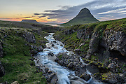 Kirkjufell is in the Snæfellsnes peninsula.