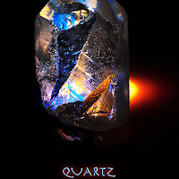 Rough Quartz point. Available as a fine art print