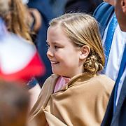 NLD/Tilburg/20170427- Koningsdag 2017, Prinses Alexia en Prinses Ariane en Prinses Amalia
