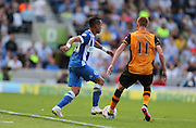 Brighton defender, full back, Liam Rosenior the Sky Bet Championship match between Brighton and Hove Albion and Hull City at the American Express Community Stadium, Brighton and Hove, England on 12 September 2015.