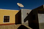 Modern Nubian resttlement village near Kom Ombo
