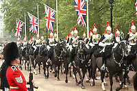 Guards & Household Cavalry - William & Kate Royal Wedding, Horseguards Road & The Mall,London, UK, 29 April 2011:  Contact: Rich@Piqtured.com +44(0)7941 079620 (Picture by Richard Goldschmidt)