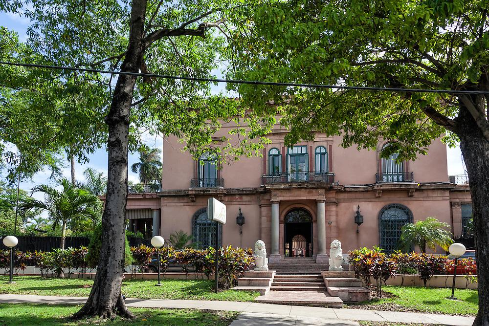Casa de la Amistad, Havana Vedadado, Cuba.